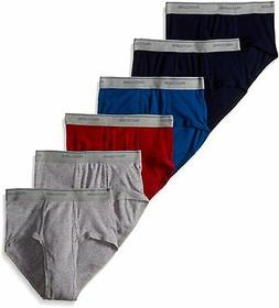 Fruit of the Loom Men`s 6-Pack Assorted Fashion Briefs
