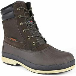 NORTIV 8 Men's Dk.Brown & Black with Rubber Sole Fashion Sno