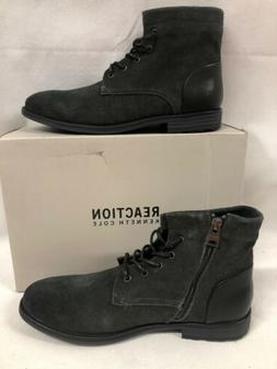 Kenneth Cole REACTION Men's Zenith Fashion Boot Gray Size 8.
