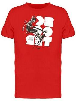scooter free style lovers art tee men