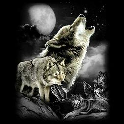 Wolf Wilderness T Shirt Choose Style & Size Up to 4XL 10474