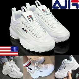 FILA Womens Men Fashion Sneakers Casual Athletic Running Wal